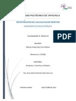 Investigacion Del Metodo Newton-euler 9 Mecatronica Miguel Angel Bautista Miron