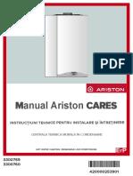 Manual Ariston CARES