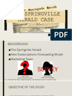 The Springville Herald Case
