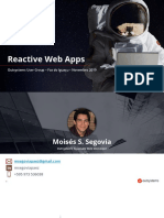 Reactive Web App - OutSystems Presentation - PT