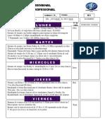 18semiformes Semanales - Practica Profesional Musi