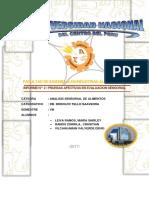 2do Informe de Analisis Sneosrial