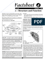 Bio Factsheet Chloroplasts – Structure and Function Number 198 Www.curriculum-press.co.Uk