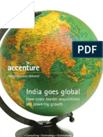 Accenture India Goes Global