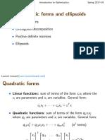 11 - Quadratic Forms and Ellipsoids