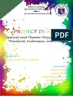 Grade 8 ARts Portfolio
