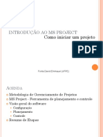 Introducao Ao MS Project