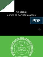 o Mito Da Floresta Virgem