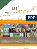 Plakat Kunsttour Caputh 2008