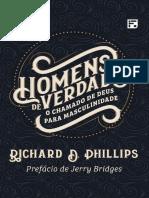 Homens de Verdade - Richard Phillips