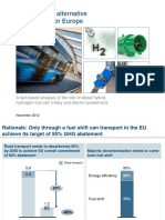 Presentation Urban Buses, Alternative Power Trains for Europe. Dec 2012
