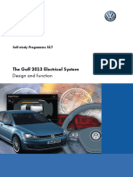 SSP 517 - The Golf 2013 - Electrical System