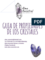 Guía de Propiedades de Los Cristales