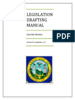 Idaho Legislation Drafting Manual