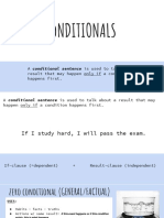 Conditionals - All Types