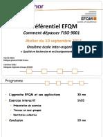 Atelier EFQM