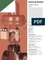 Technical Bulletine G Series Actuators