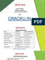 Sbi Po 2018 Syllabus PDF
