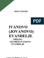 Rudolf Steiner-Ivanovo Evandjelje