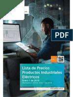 Lista de Precios Siemens