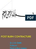 Post Burn Contractures