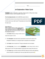 Water Cycles e