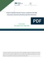 """Programma Operativo Nazionale """"Imprese e competitività"""" 2014-2020"""