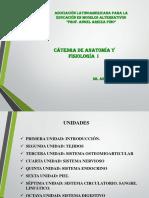 ASOEDUCALT de Anatomía y Fisiología I
