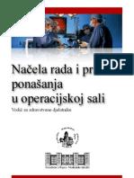 Načela rada i pravila ponašanja u operacijskoj sali