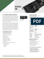 Pny Nvidia Geforce Gtx 1060 6gb Spa