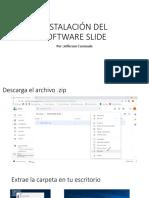 Instalar Software Slide