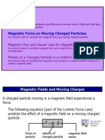 Lecture14 Part 3 Magnetic Force on Moving Charged Particles