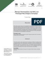 Manejo Homeopatico Del Nino Con Patologia Neurologica Compleja