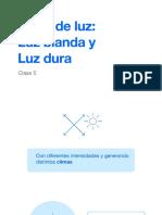 Tipos de Luz, Blanda y Dura