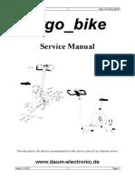 Service Manual Ergo Bike
