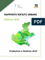 Rapporto RU 2018, Regione Veneto