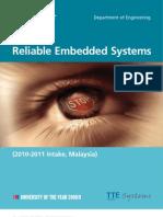 M.sc Embedded System