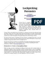 Awesome Info Lock Picking