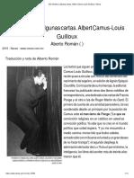 Dos Retratos y Algunas Cartas. Albert Camus-Louis Guilloux _ Nexos-converted