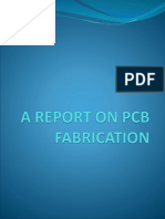 A REPORT ON PCB FABRICATION.pptx