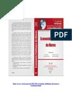 Les transformations de la structure financière du capitalisme marocain