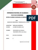 Trabajo Hidrologia Analisis de La Cuenca