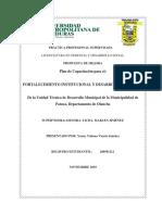 Propuesta de Mejora Yenny Municipalidad de Patuca