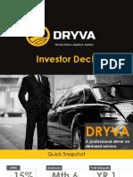 DRYVA- Investor Deck