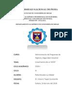Administración de Programas de Higiene y Seguridad Industrial- PEÑA MORALES MABEL