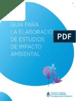 Guía para la elaboración de estudios de impacto ambiental (2019)