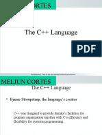 MELJUN CORTES--IT102 c++ Language Basics