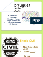 Aula 2 Portugues Febrero 2019