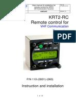 TQ KRT2 Manual Englisch Remote Control 2018