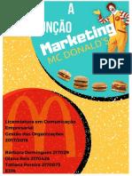 A Função de Marketing do McDonald's